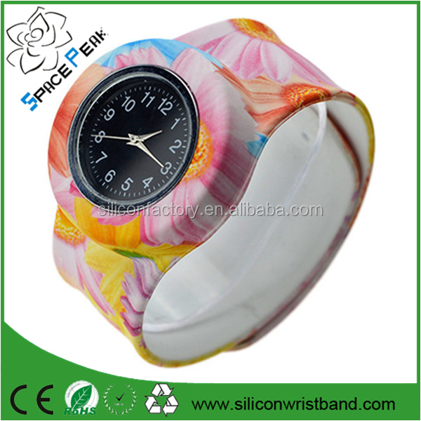 Silicone Slap On Watch boys Sport KIDS Wristwatch girls Small Silicone Fashion woman's watch Children Gift