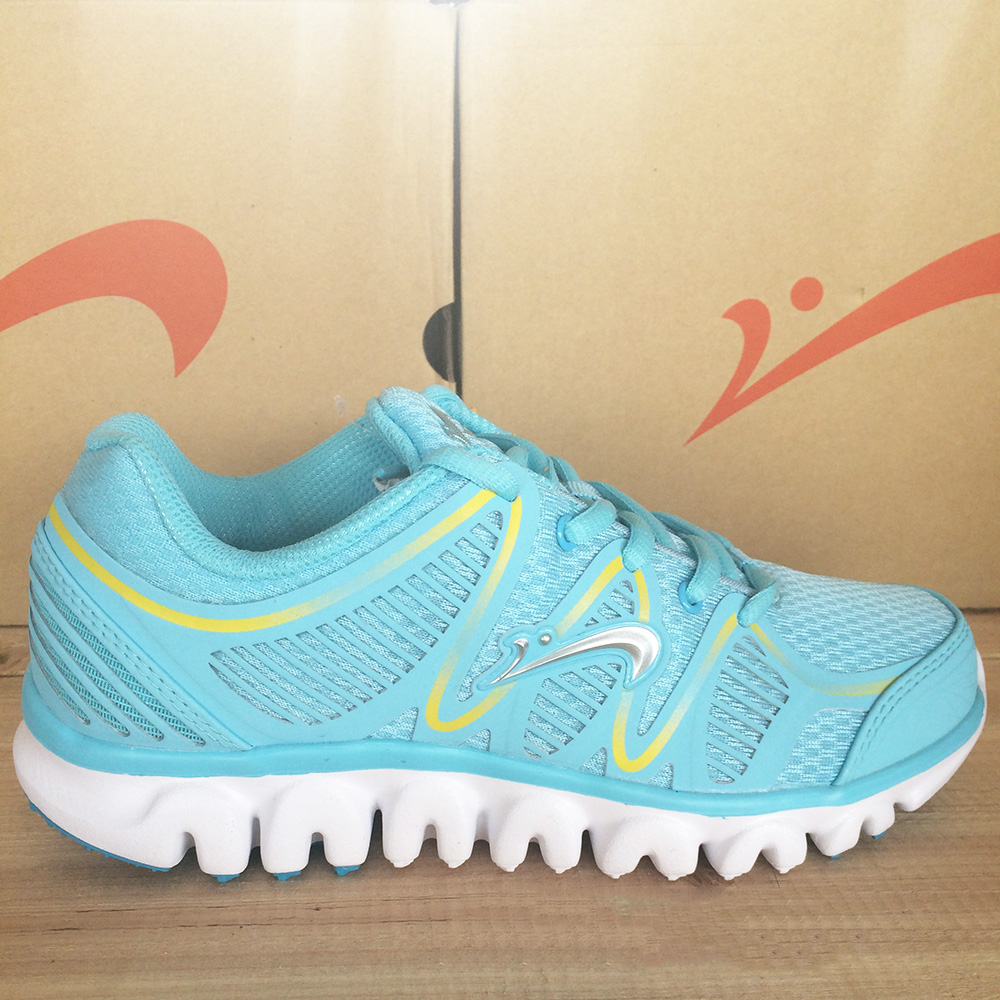 2016 new design comfortable hot sell women casual sports shoes