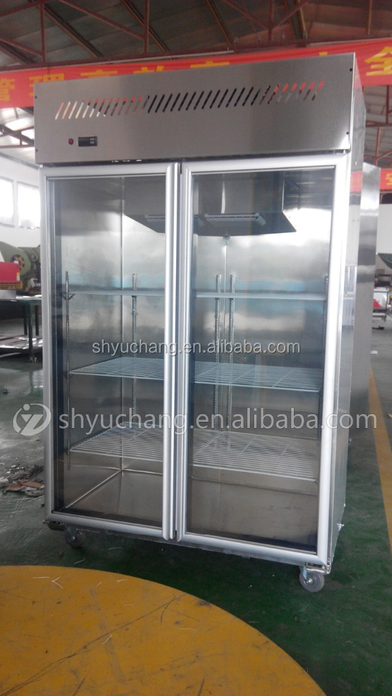 Supermarket Display Cooler,Vertical Refrigerator,Refrigerated Showcase