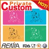 RENJIA pet placemat training pet pad from china dog feeding mat silicone