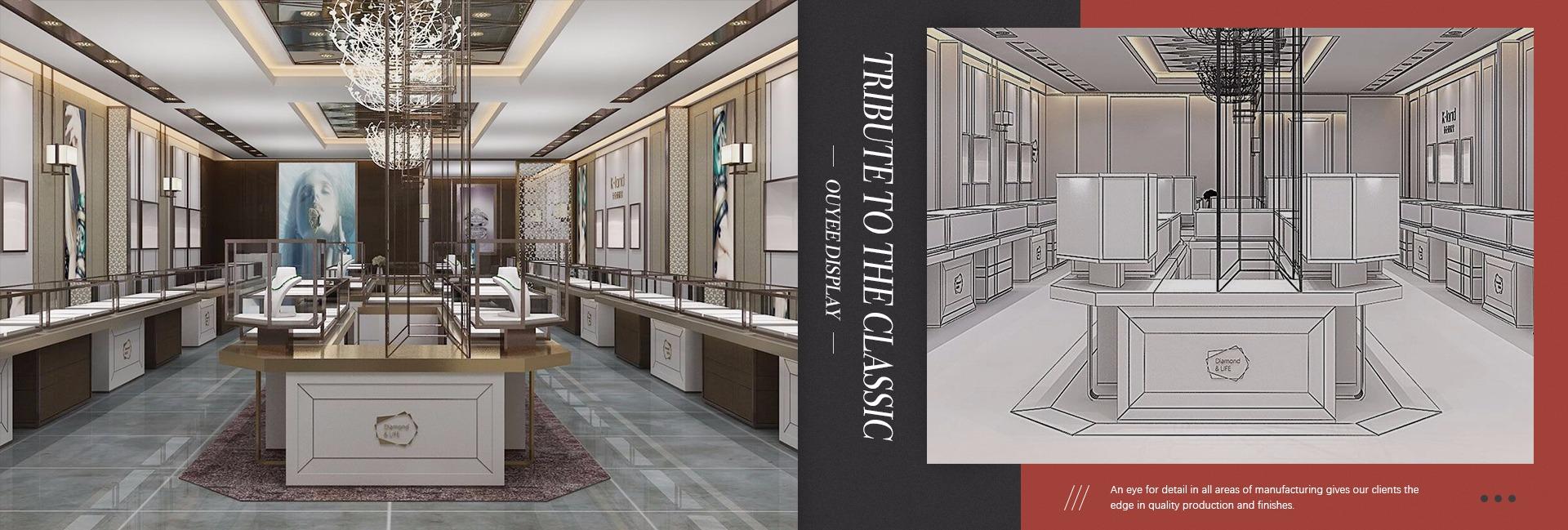 Guangzhou Ouyee Display Co., Ltd. - store furniture, furniture store