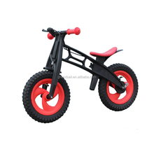 12'' New design high-tech extreme light children balance plastic bicycle