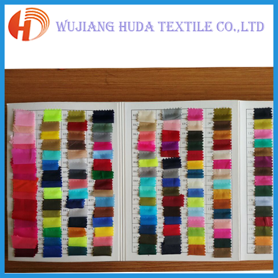 Factory price lots stock color 190t garment lining polyester taffeta fabric