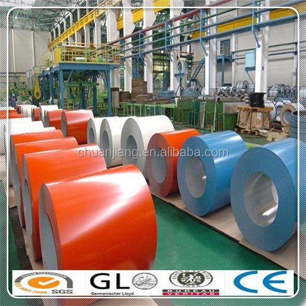 Construction Material PPGI Prepainted Steel Plate/color coated steel sheet with green /red color for sale
