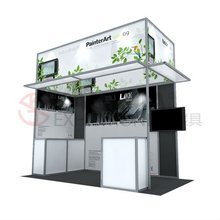 aluminium profile exhibition booth manufacture