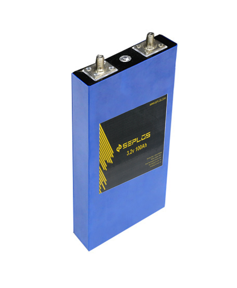 China supplier long cycle life Seplos <strong>P100</strong> 3.2V 100ah lithium ion Rechargeable LiFePO4 battery cell for solar storage