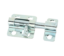 Steel Barrel Bolt for securing doors, cabinets, drawers and windows