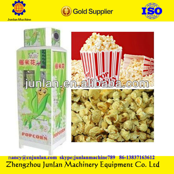 Fully Automatic pop corn making machine pop corn machine