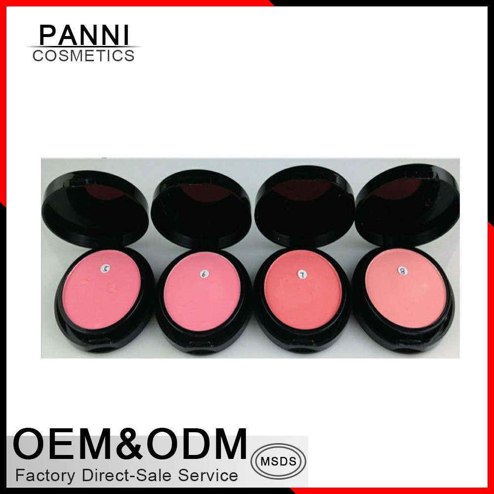 8 Color High Quality Natural OEM Customized Makeup Blusher Palette