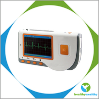 Portable Handheld ECG with a wireless Connection for real-time data transmission