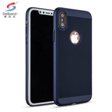 Breathable PC case Mobile phone cases for iPhone X cases hard PC protector