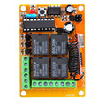 MC404PC DC 12V4 CH 10 A Learning code RF 315mhz/433mhz garage remote controller