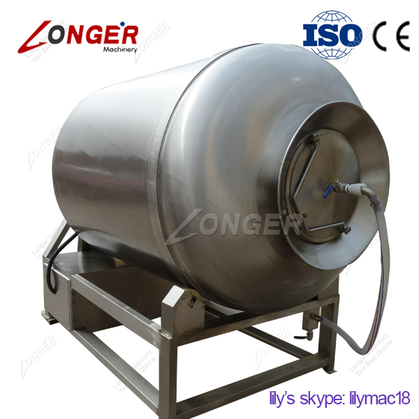 Stainless Steel Manufacturers Selling Full-automatic Meat Rubbing/Rolling Machine/Vacuum Meat Tumbling Machine on Sale