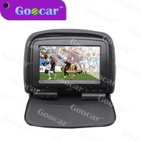 9 inch HD Digital car headrest dvd with Game and Touch Screen function and SONY Lense ""