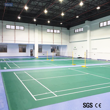 Multi - sports Indoor PVC Sports Flooring for Badminton ,Table Tennis with Favorable Price