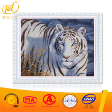 White Tiger Diy Art Painting Diamond Painting Embroidery Kits A022
