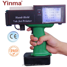 Hand date code jet printer for plastic card