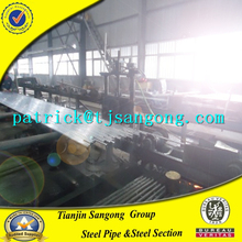 China factory mill exporter price PRE GALVANISED STEEL GP HOLLOW SECTION GI PIPE SQUARE