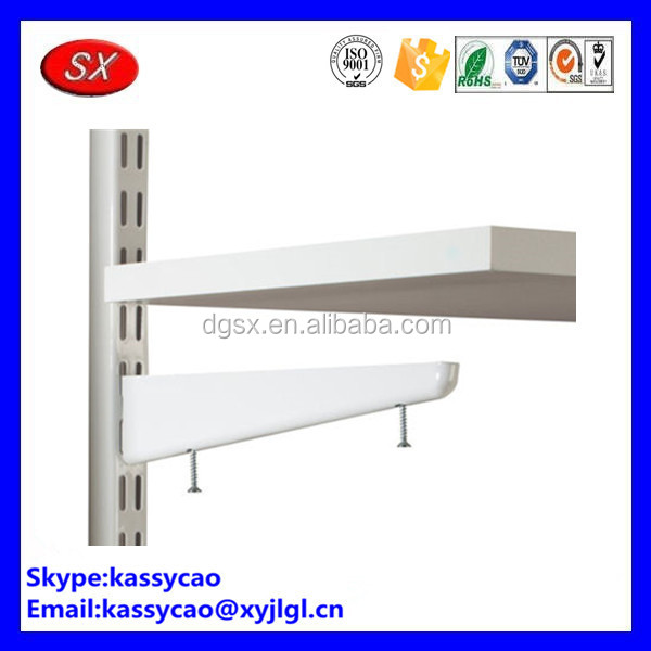 Custom stanless steel brushing write paint independent display shelf pins China Guandong made
