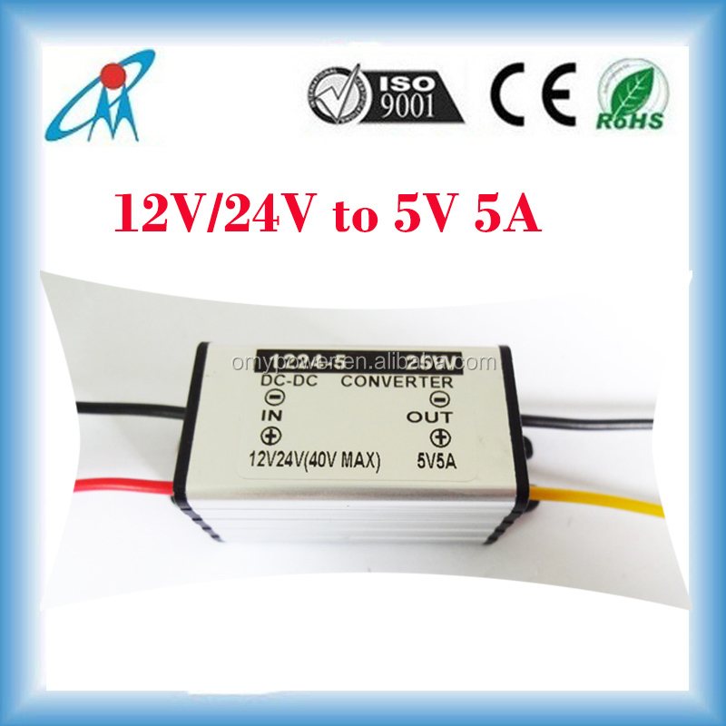 12V24V to 5V dc dc converter for led light