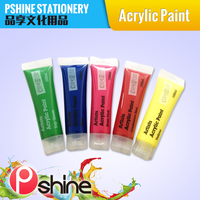 High Quality Brigt Color Acrylic Paints For Kids