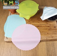 Mulit Wrap Kitchen Storage Silicone Stretch Lids Re-usable Silicone Food Wrap