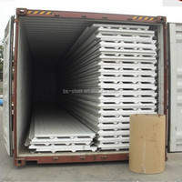 Fireproofing EPS Sandwich Panel for Prefabricated House