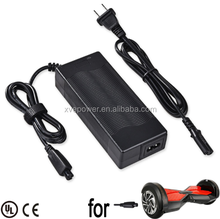 XVE 42V 2A Universal Scooter Charger Adapter for 2 Wheels Smart Self Balancing Scooters Drifting Board