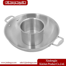 HHW3410 Professional Use Stainless steel Pot Divided into Sudoku Steamboat Induction Cooker Available