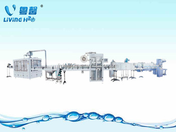 Jiangmen large scale making distilled water filling machine/ equipment/plant