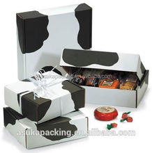 Promotion factory price East Color guitar shaped gift box