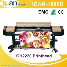 Topcolor competitive price flora photo studio printing machine 4 GH2220 heads canvas shoes digital printing machine