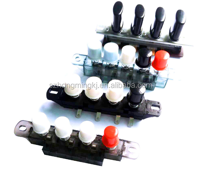 standard electronic colorful keyboard switch