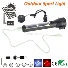2017 New Porduct Emergency Solar Power Flashlight