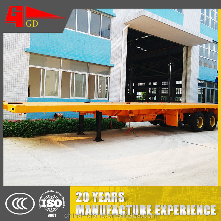 2016 Competitive price simple operation dolly semi-trailer seven 7 ton for sale