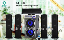 5 inch subwoofer with USB SD , FM , Remote , LED Display