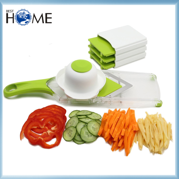 Amazon Manual Stainless Steel Food Safety Vegetable Slicer As Seen On TV