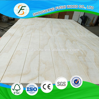 wholesale good quality E1 glue decorative slot plywood best prices