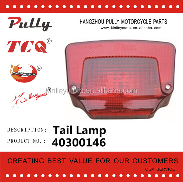 High Quality Universal Rear Tail Lights Motorcycle Motorcycle Part From China Factory