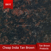 India cheap brown granite Tan Brown