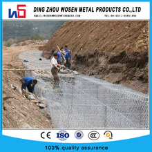 80X100 hot dip galvanized hexagonal gabion matress/gabion box mesh
