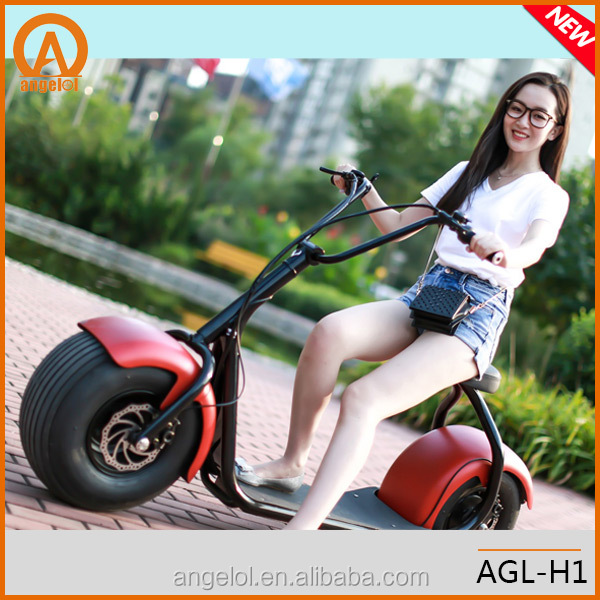 Hot sale big power 2 big wheels China electric scooter 800w brushless motor