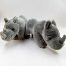 2018 new promotion rhino stuffed plush animal toys for kids