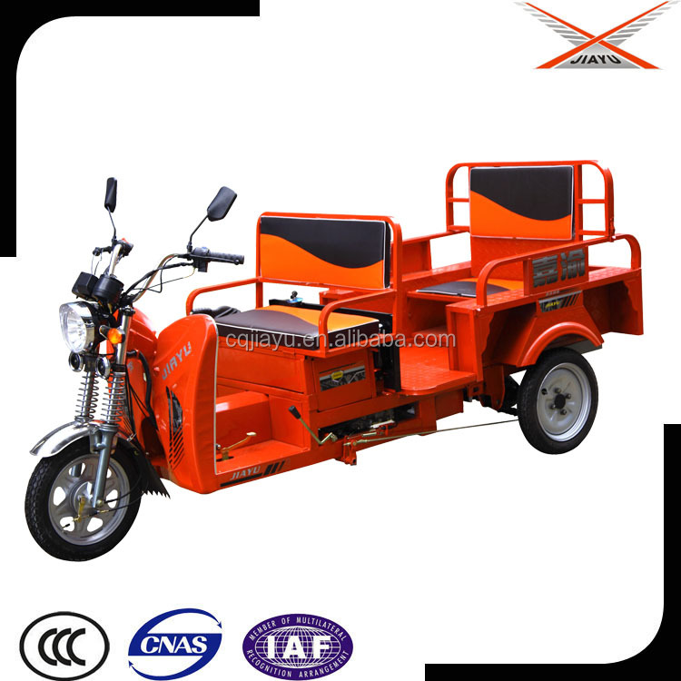Three Wheel Motorcycle Taxi With Open Body