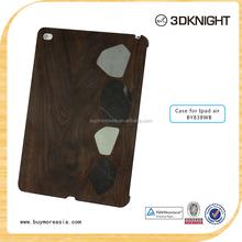 New hot sale tablet case natural real wood case for ipad air,case for ipad air ,wood case for ipad air