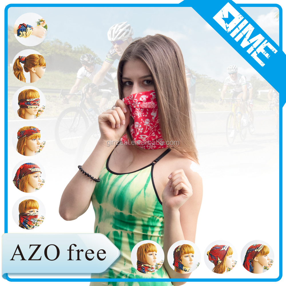 New Style Promotion 2016 African Head Tie Printed Face Mask