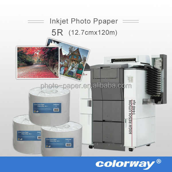 Professional high grade H240 240gsm photo paper minilab for fuji Frontier DL 650 Inkjet minilab printers