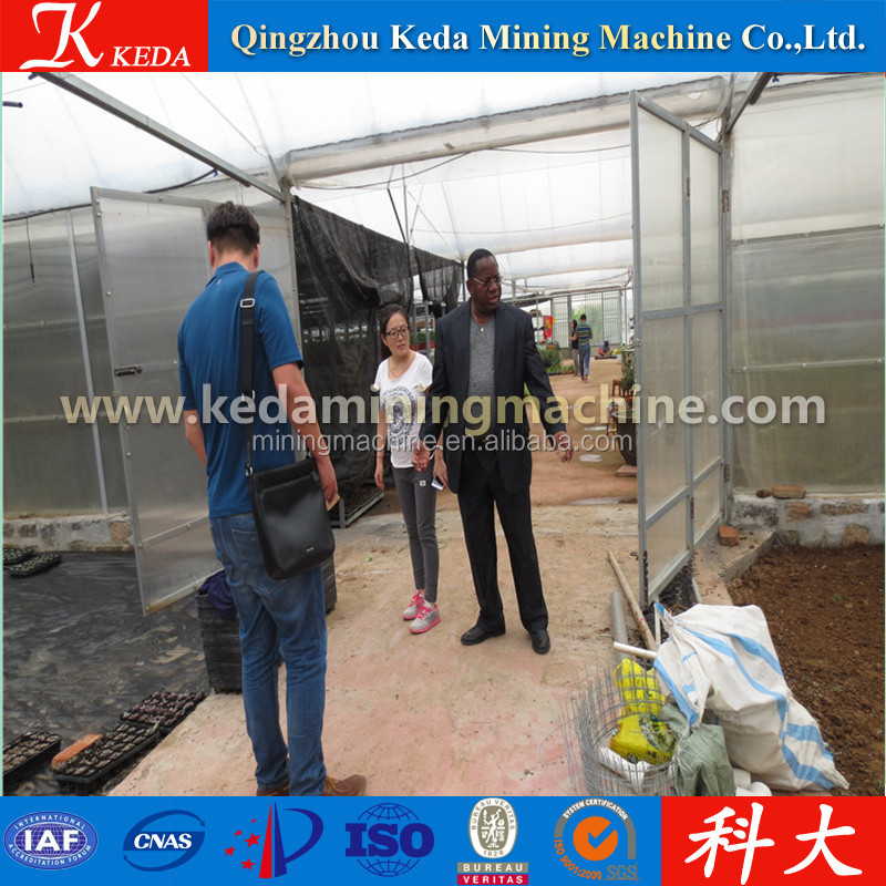 Agricultural Winter Multi Span Greenhouse, mashroom greenhouse price