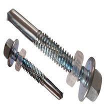 Phil recessed shallow flange self-drilling tapping screw
