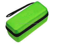 Hard Travel Case for Mini Bluetooth Portable Speaker & Fits Wall Charger & Charging Cradle & Silicone Cover